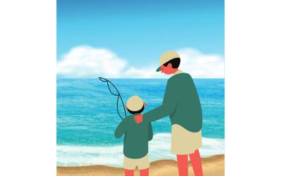 Surprises Fishing with Grandpa